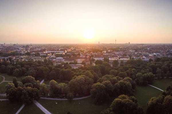 unser Gebiet Schwabing München