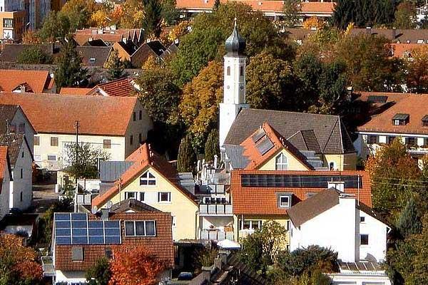 unser Gebiet Unterschleißheim München