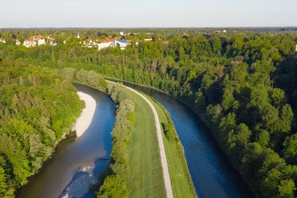 Unser Gebiet: Grünwald bei München