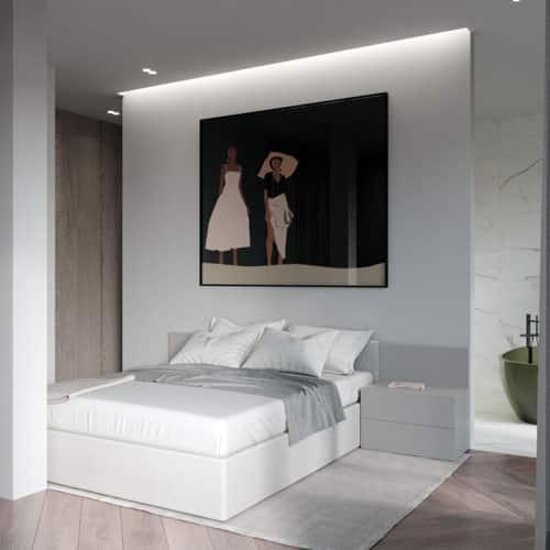 Digitales Home Staging im Schalfzimmer